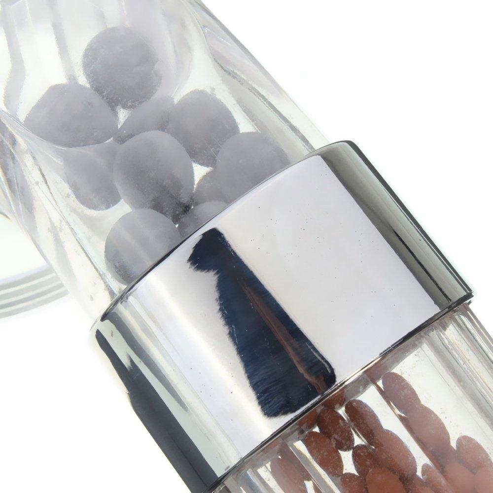 1pcs Bathroom Booster SPA Anion Water-saving Handheld Rain Shower Spray Head Nozzle - intl
