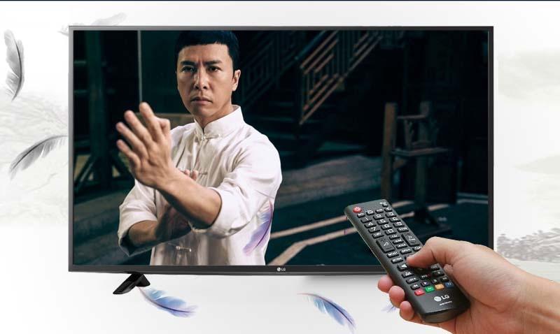 Tivi LG 49LF510T 49 inch -  Truyền hình kỹ thuật số miễn phí nhờ đầu thu DVB-T2 tích hợp sẵn