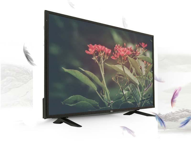 Tivi LG 49LF510T 49 inch - Kiểu dáng sang trọng, hiện đại cùng đường viền tivi mỏng là điểm nhấn lý tưởng cho ngôi nhà bạn.