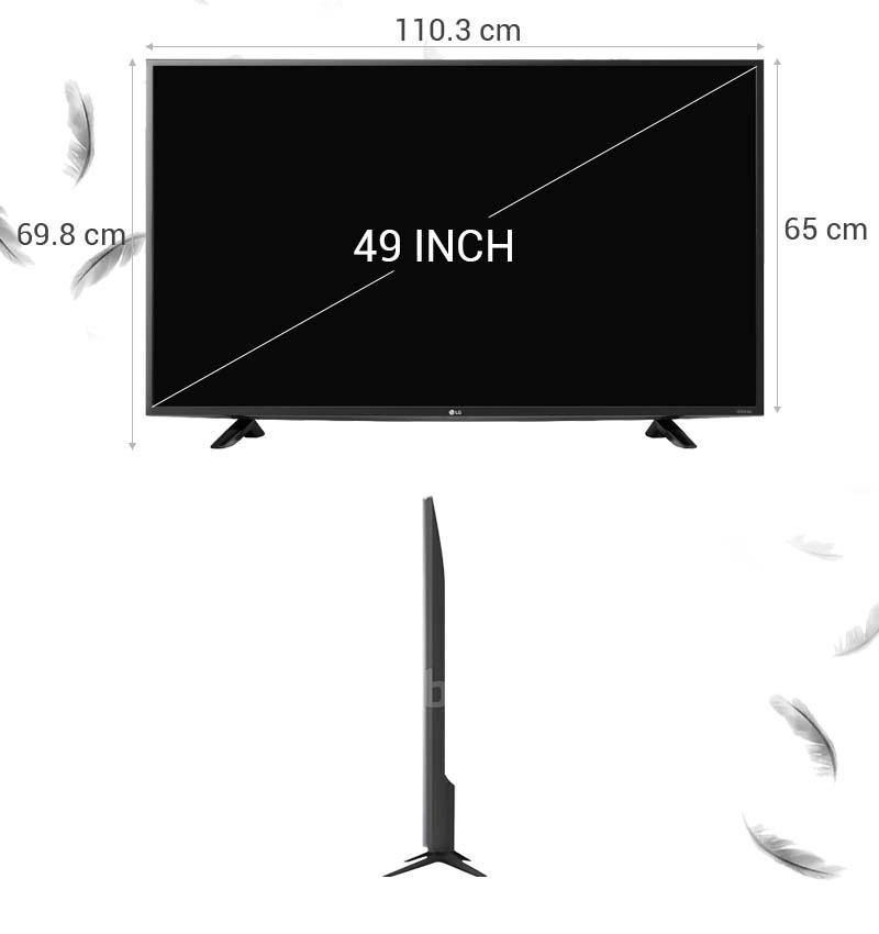 Tivi LG 49LF510T 49 inch -  Thông số kỹ thuật