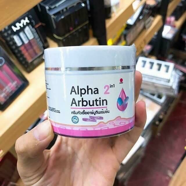 Kem dưỡng trắng da Alpha Arbutin 2 in 1 Thái lan-6717