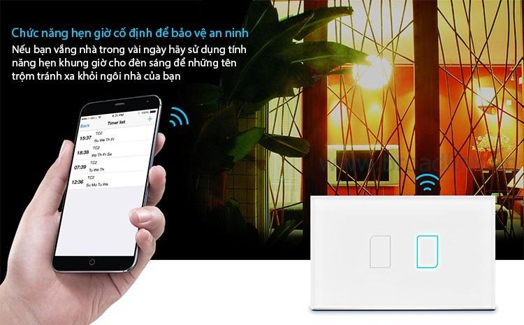 Công tắc cảm ứng Broadlink TC2 hỗ trợ hiệu quả an ninh nhà bạn