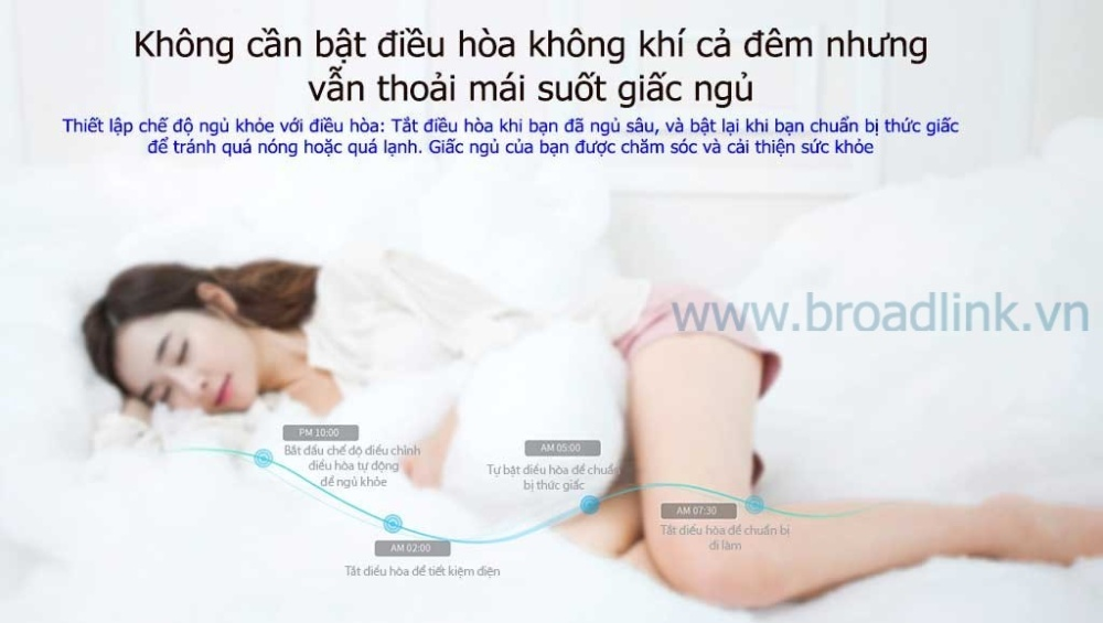 Trung tâm điều khiển nhà thông minh RM-Pro giúp bạn có giấc ngủ khỏe