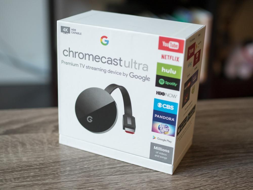 Chromecast Ultra 4k Video