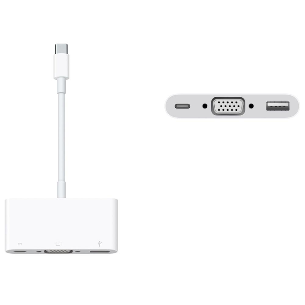 Review Cáp Apple USB-C VGA Multiport Adapter MJ1L2ZA/A và Cáp Apple USB-C Digital AV Multiport Adapter MJ1K2Z A/A