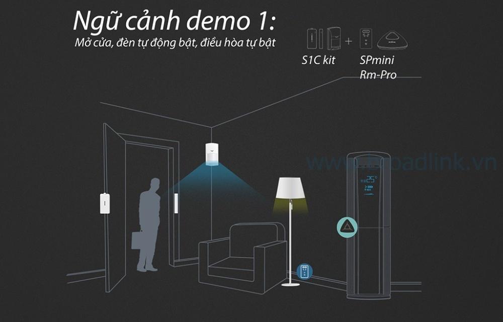 Ngữ cảnh nhà thông minh demo 1