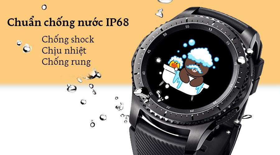 Đồng Hồ Thông Minh Samsung Gear S3 Frontier (Đen) - Hàng Chính Hãng