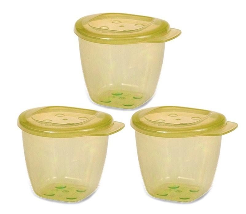 Bộ 3 hộp đựng thức ăn hữu cơ UPASS - UP4187O 5