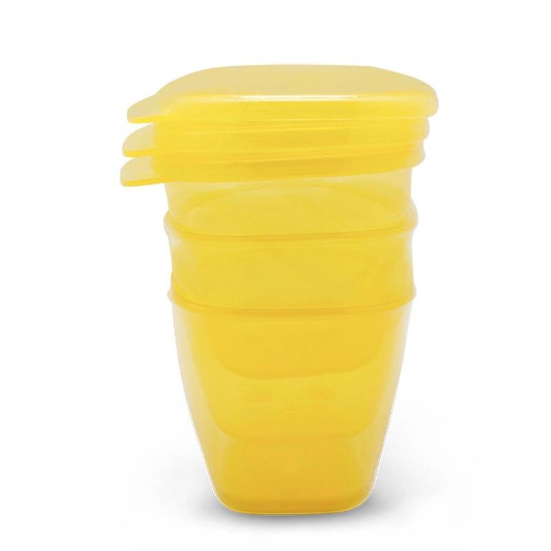 Bộ 3 hộp đựng thức ăn hữu cơ UPASS - UP4187O 2