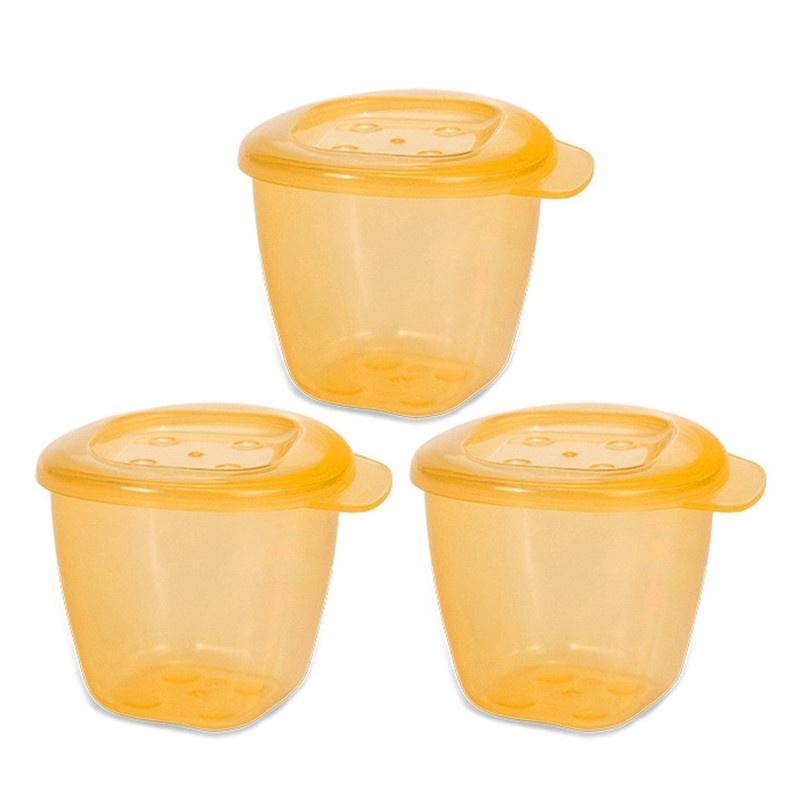 Bộ 3 hộp đựng thức ăn hữu cơ UPASS - UP4187O 1