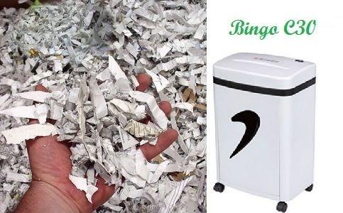 Máy hủy giấy Bingo C30