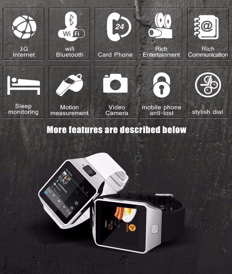 Đồng hồ thông minh QW09 Smart Watch 1