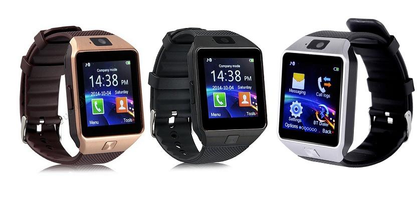 Đồng hồ Thông minh QW09  Có Wifi, 3G Vàng Nâu 3