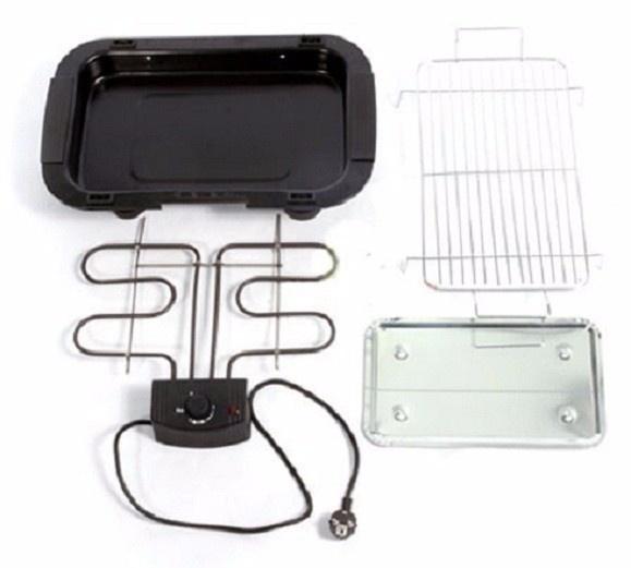 Bếp nướng điện không khói electric barbecue grill 6