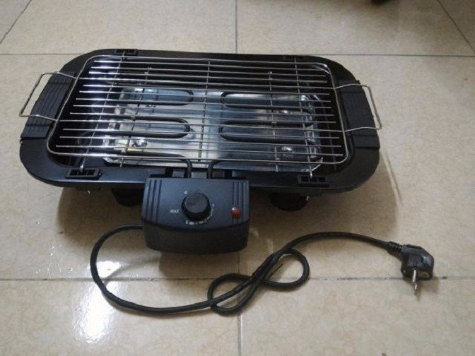 Bếp nướng điện không khói electric barbecue grill 8