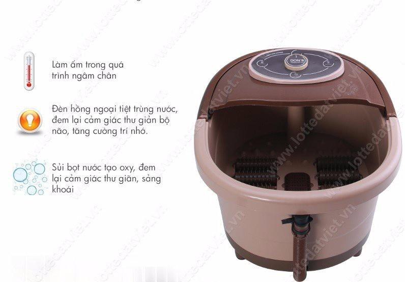 Bồn ngâm chân massage giữ nóng nước có hồng ngoại-0965.011.567 5