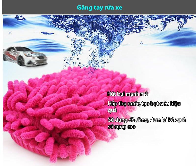 Găng tay rửa xe