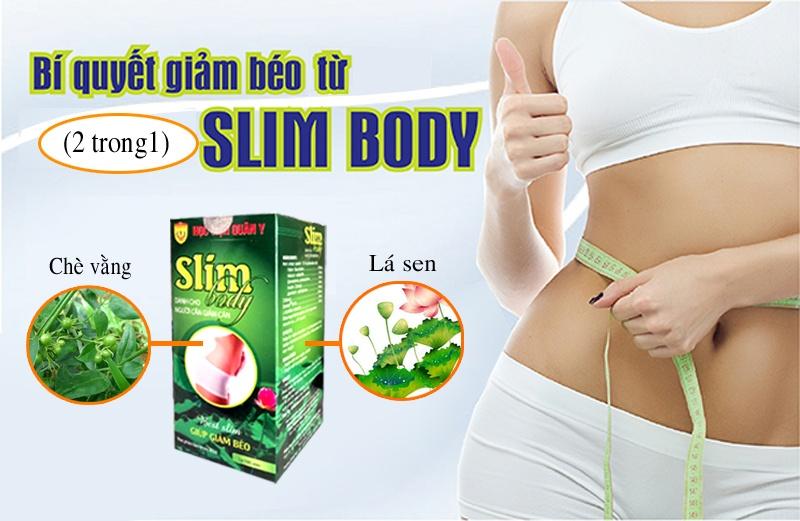 Viên nang giảm cân Slim Body Học viện Quân Y 100 viên