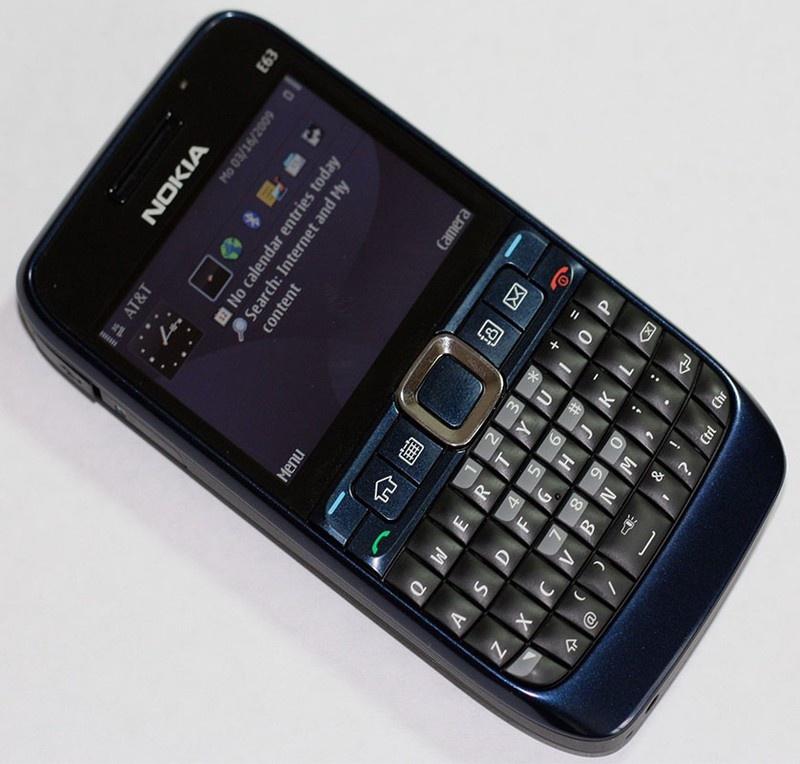 Nokia E63 chính hãng 7