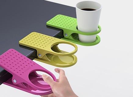 Kẹp để ly tiện dụng cho nhân viên văn phòng - Hình 1