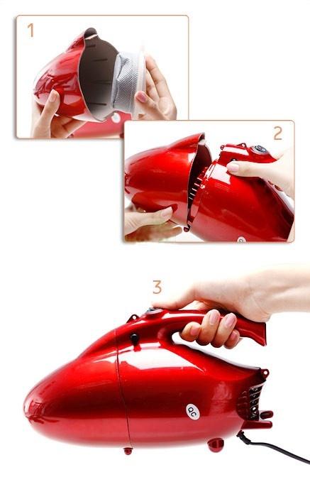 Máy hút bụi 2 chiều cầm tay Vacuum Cleaner JK-08 2