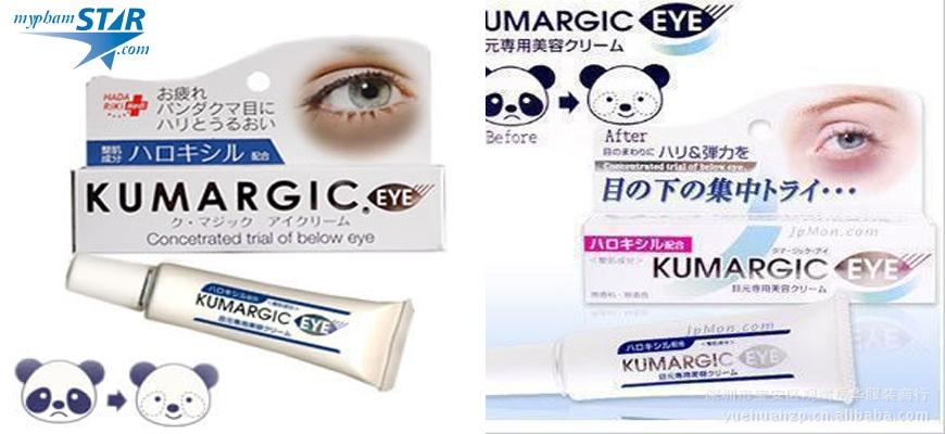 Kem Đặc Trị quầng thâm mắt Kumargic - Nhật Bản 2