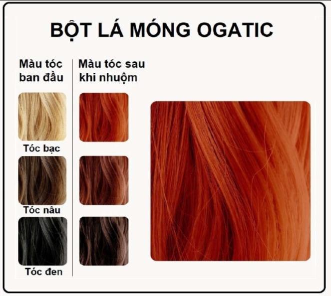 Màu tóc sau khi nhuộm