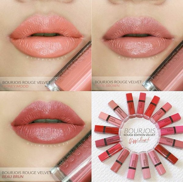 Image result for Bourjois Rouge Edition Velvet 16 Honey Mood