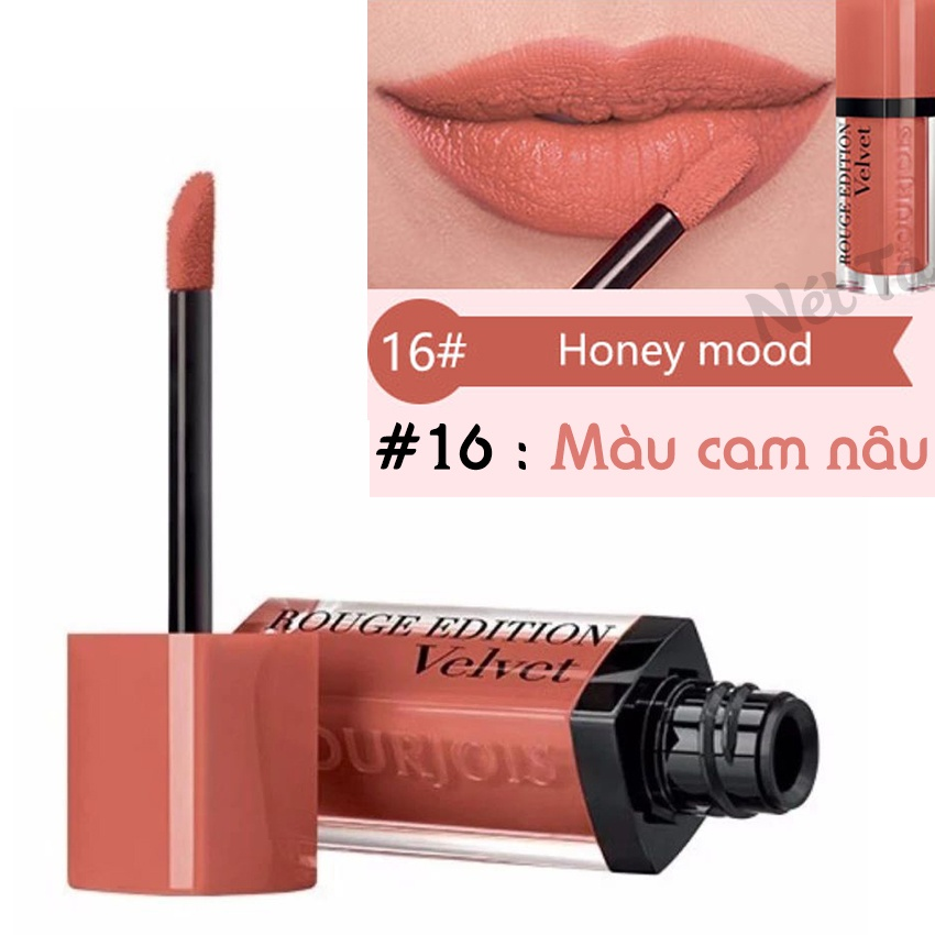 Son bourjois rouge edition velvet 16 Honey Mood