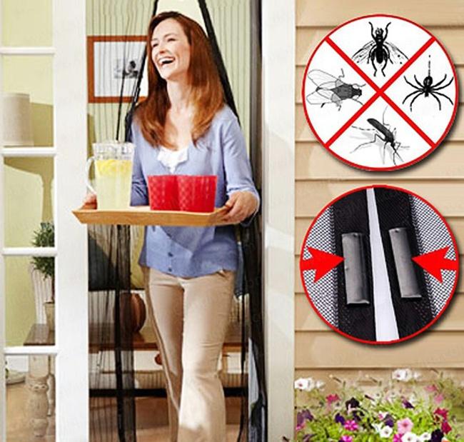 Rèm cửa nam châm chống muỗi Magic Mesh