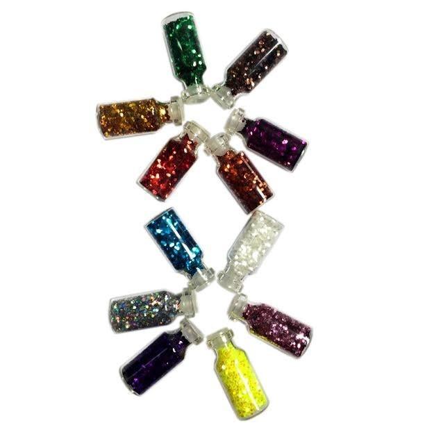 Bộ 12 hộp kim tuyến tạo mẫu nail 4