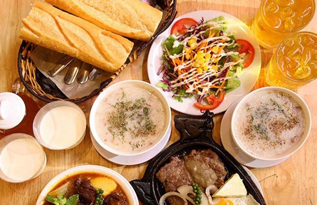 Set ăn dành cho 2 người tại Bít tết Huỳnh Gia