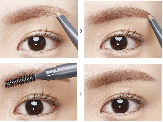 Kết quả hình ảnh cho the face shop designing eyebrow pencil