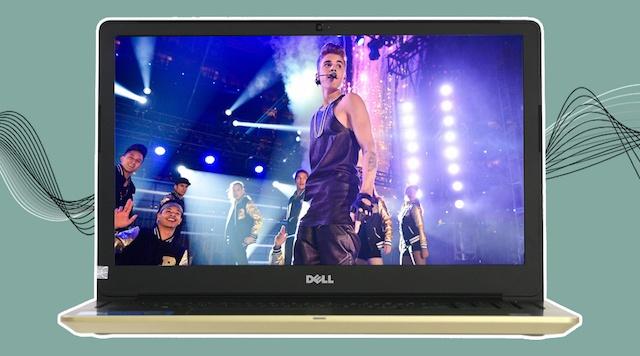 Dell Vostro 5568 i5 7200U - Trải nghiệm âm thanh tốt hơn với công nghệ xử lý độc quyền MaxxAudio