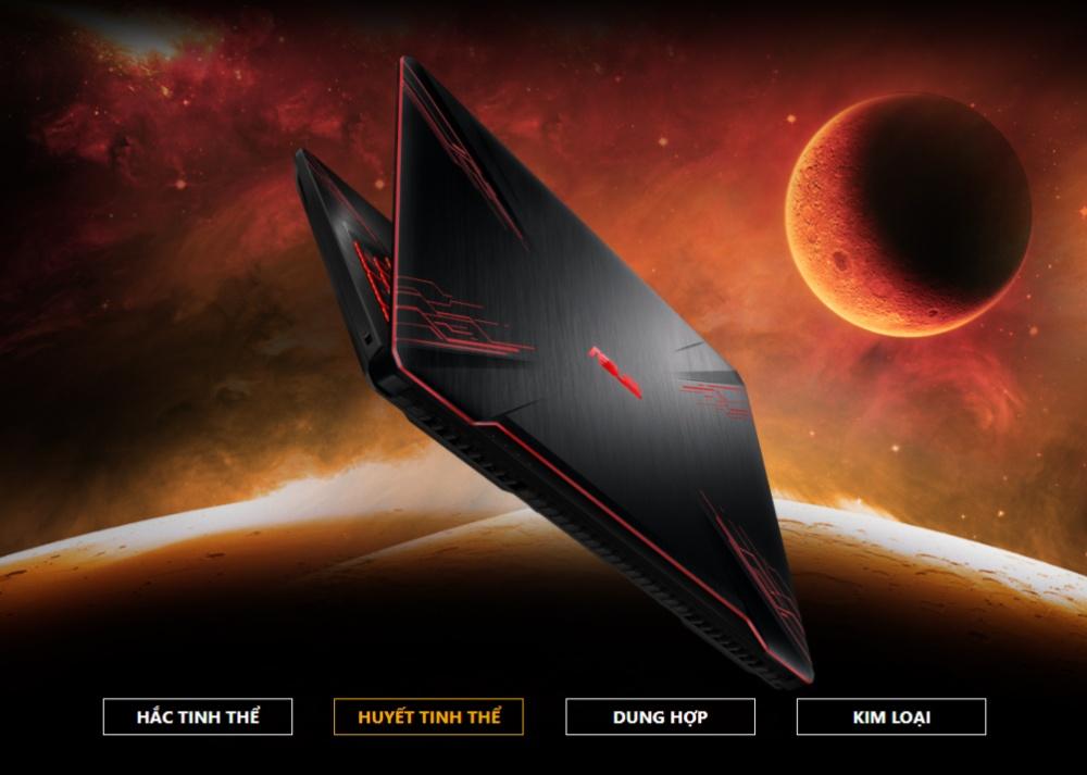 Asus TUF Gaming FX504GE-E4059T thiết kế