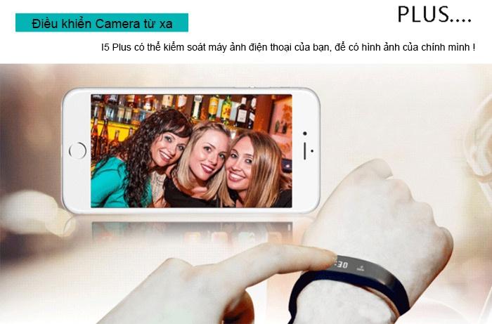 Đồng hồ thông minh chống thấm I5 Plus - đen 4