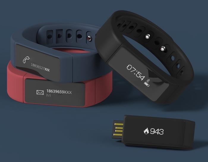 Đồng hồ thông minh chống thấm I5 Plus - đen 10