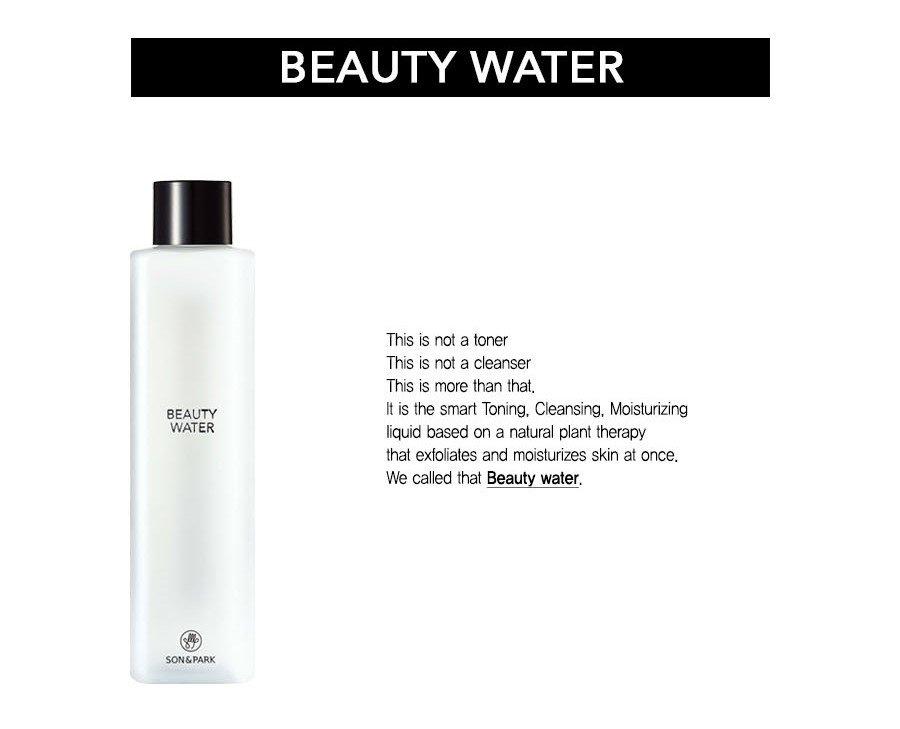 Kết quả hình ảnh cho Son & Park Beauty Water 60ml