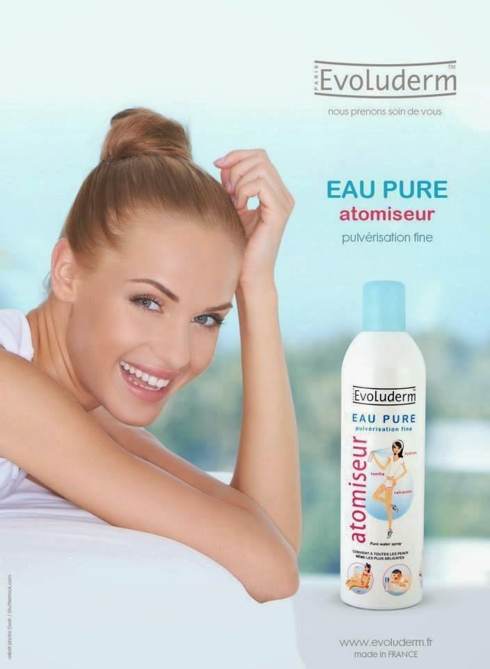 Kết quả hình ảnh cho evoluderm eau pure 150ml