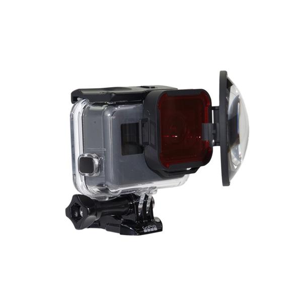 GoPro Hero5 Red Filter and Macro Lens