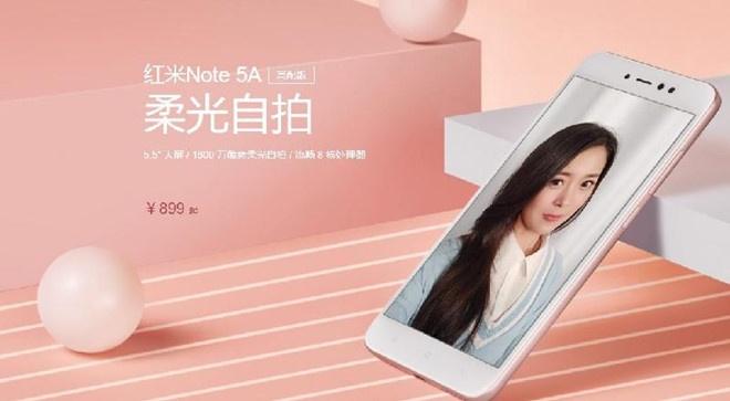 Xiaomi Redmi Note 5A ra mat, gia tu 106 USD hinh anh 1