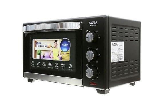 Lò nướng Aqua Ato- R5074 có nút vặn cơ học dễ sử dụng
