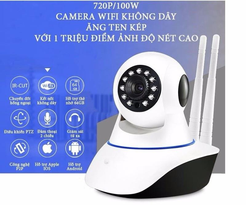 Camera Yoosee 8100 HD Wireless IP Quan Sát - Xoay 360 Độ 1