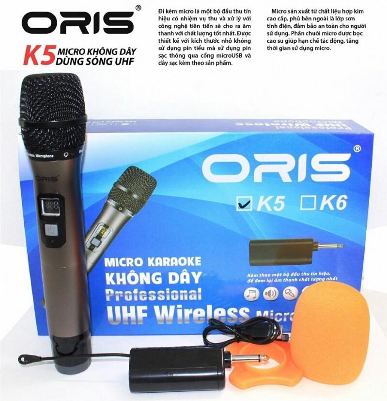 Micro Đa Năng Cho Loa Kéo Amply ORIS K5 1