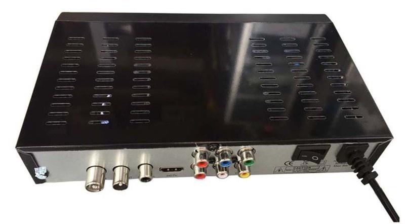 Đầu thu DVB T2 Sunrise S-2000 Kèm Anten và 10m cáp đồng trục 3