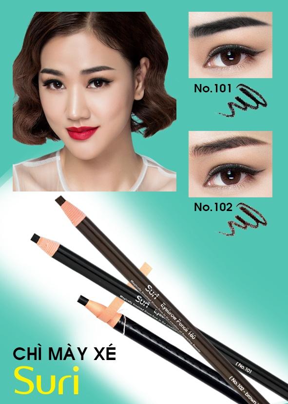 Chì Mày Xé Suri Eyebrow Pencil Hàn Quốc 1