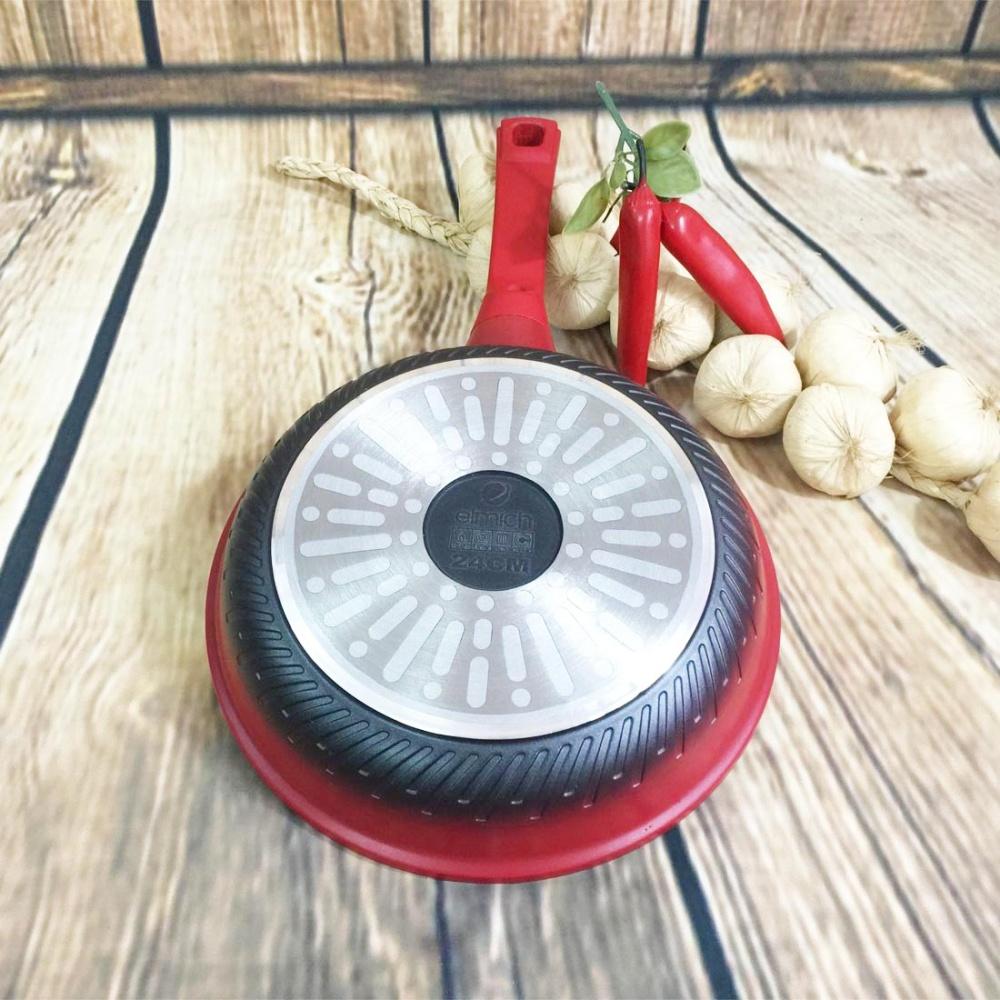 Chảo chống dính Elmich Red Phoenix EL7174 đáy từ 28cm