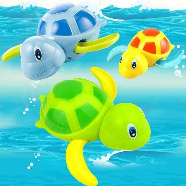 Bán buôn đồ chơi bồn tắm thú biết bơi cho bé