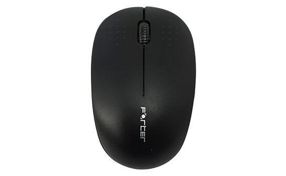Chuột không dây Forter V181 màu đen giá rẻ khuyến mãi tại nguyenkim.com