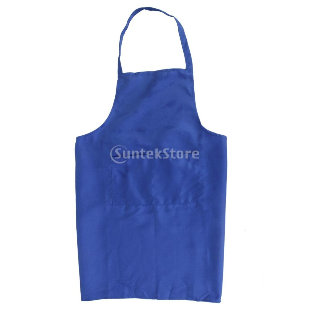 Kitchen Cooking Apron (Blue) - Intl